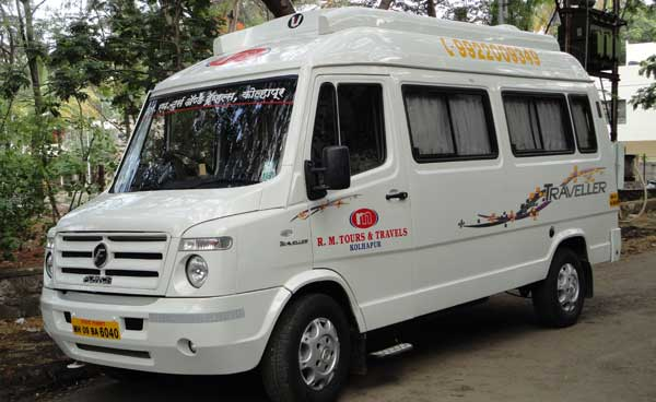 Tempo Traveller Car Rental Kolhapur
